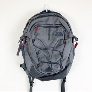 The north face | Borealis Gray Pink Backpack